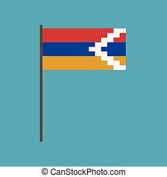 διαμέρισμα , σημαία , δημοκρατία , artsakh, σχεδιάζω , εικόνα