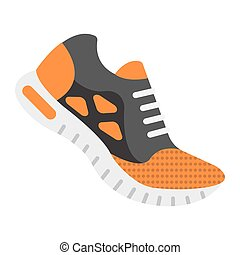 διαμέρισμα , 10., παπούτσια , γραφικός , στερεός , πρότυπο , γυμναστήριο , eps , σήμα , αγώνισμα , εικόνα , τρέξιμο , μικροβιοφορέας , καταλληλότητα , graphics , αγαθός φόντο