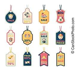 διαμέρισμα , eps10, κινέζα , θέτω , ετικέτα , φόντο , έτος , καινούργιος , σημαία