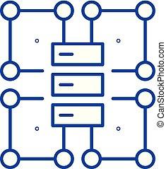 διαμέρισμα , illustration., σήμα , concept., σύμβολο , μικροβιοφορέας , οργανισμός , γραμμή , εικόνα , δομή , περίγραμμα