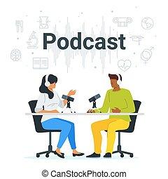 διαμέρισμα , podcast, μικροβιοφορέας , στούντιο , εικόνα