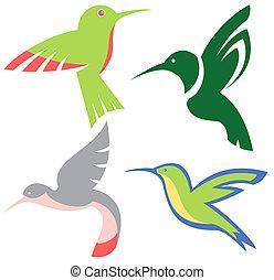 διαμορφώνω κατά ορισμένο τρόπο , hummingbirds , θέτω ,...