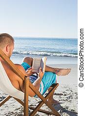 διανοούμενος , ωραία , ανήρ ανάγνωση , ένα , βιβλίο