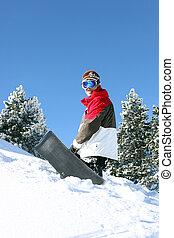 διατυπώνω , snowboarder