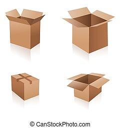 διαφορετικός , κουτιά