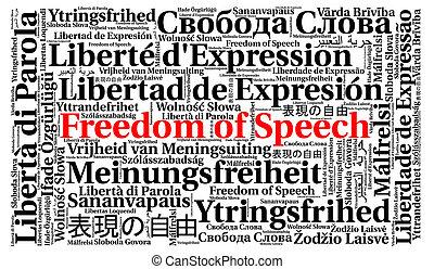 διαφορετικός , λέξη , ελευθερία , αισχρολογίες , λόγοs , σύνεφο