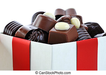 διαφορετικός , σοκολάτα , αναμμένος αγωγή