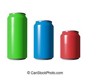 διαφορετικός , cans