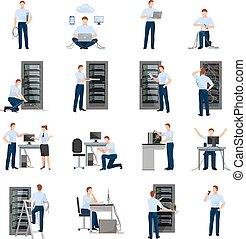 διαχειριστής , θέτω , σύστημα , απεικόνιση