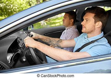 διδάσκαλοs , ιζβογις , αυτοκίνητο , οδήγηση , οδηγός , ...