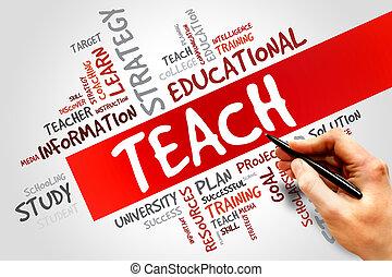 διδάσκω