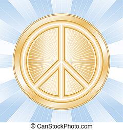 διεθνής , γαληνεμένος σύμβολο