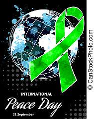 διεθνής , ημέρα , από , ειρήνη