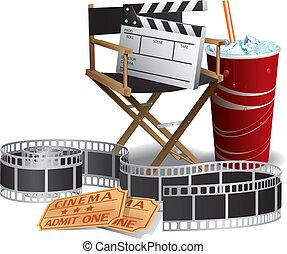 διευθυντής , ταινία , καρέκλα