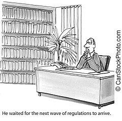 δικάζω , κανονισμοί