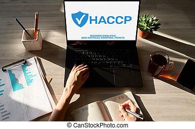 δικάζω , haccp, μέτρο , κίνδυνοs , ανάλυση , διακόπτης , ποιότητα , βεβαίωση , διεύθυνση , - , επικριτικός , point.