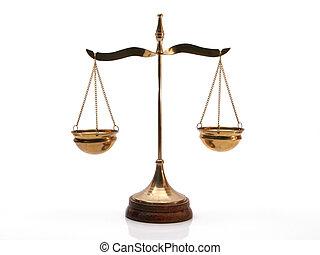 δικαιοσύνη , ισοζύγιο