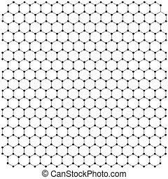δικτυωτό , graphene, φόντο , μορφή