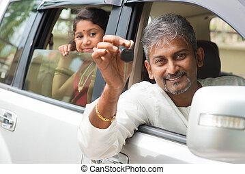 δικός του , αυτοκίνητο , εκδήλωση , ινδός , key., άπειρος ανήρ
