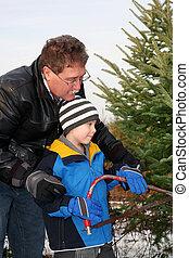 δικός του , δέντρο , υιόs , δηκτικός , xριστούγεννα , άντραs