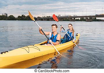 δικός του , kayaking , άντραs , φιλενάδα , διδασκαλία , δυνατός , ωραία