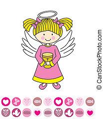 δισκοπότηρο , άγγελος