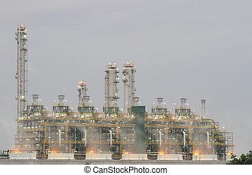διυλιστήριο πετρελαίου , (map, ta , phut, βιομηχανικός θέση , rayong , thailand)