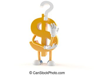 δολάριο , ερωτηματικό , χαρακτήρας