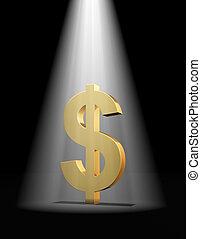 δολάριο , προβολέας