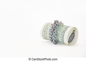 δολλάρια , αγαθός φόντο , ρολό