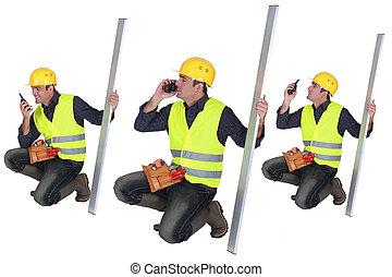 δομή δουλευτής , ομιλούσα ταινία , walkie