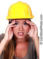 δομή δουλευτής , πονοκέφαλοs