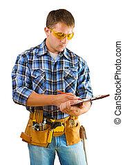 δομή δουλευτής , paperclip , γράψιμο