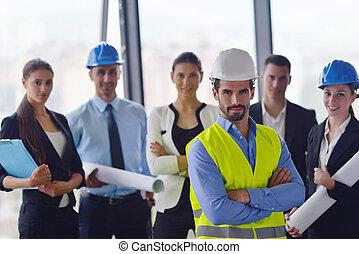δομή , συνάντηση , αξιωματικός μηχανικού , αρμοδιότητα ακόλουθοι