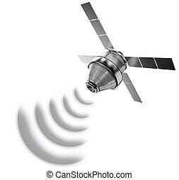 δορυφόρος , απομονωμένος
