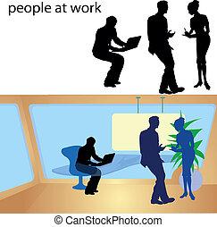 δουλειά , άνθρωποι