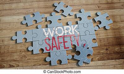 δουλειά , ασφάλεια , γρίφος
