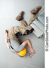 δουλειά , ατύχημα