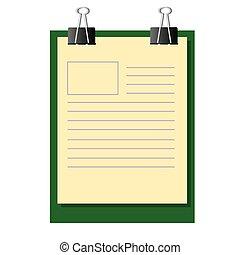 δουλειά , χαρτί , επάνω , διαγώνισμα , πίνακας