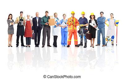 δουλευτής , άνθρωποι