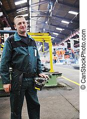 δουλευτής , ακόλουθοι αναμμένος , εργοστάσιο