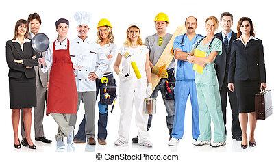 δουλευτής , σύνολο , ακόλουθοι.