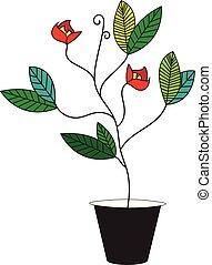 δοχείο , μικροβιοφορέας , λουλούδι , φόντο