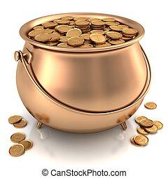 δοχείο , χρυσός
