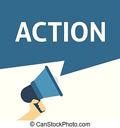 δράση , αγγελία , μεγάφωνο , αμπάρι ανάμιξη