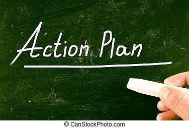 δράση , γενική ιδέα , σχέδιο