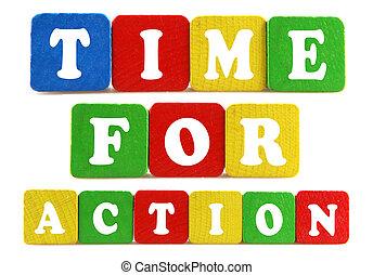 δράση , γενική ιδέα , ώρα