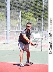 δράση , παίχτης , τένιs