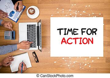 δράση , ώρα