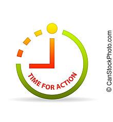 δράση , clock., ώρα